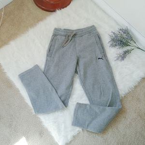 PUMA fleece swestpants joggers lounge pants S